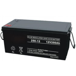 12V 250AH SLA AGM Battery