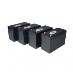 UBC54 Replacement Battery Kit Compatible with APC RBC54