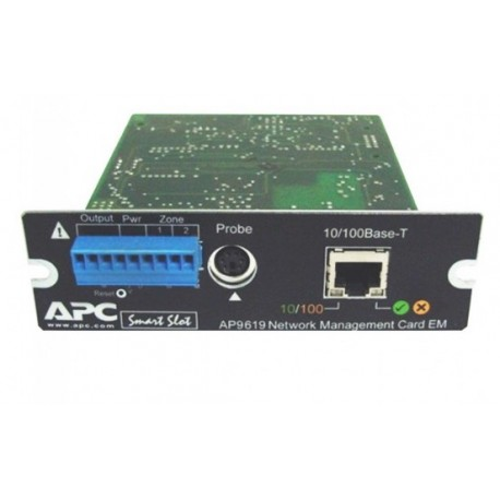 APC AP9619 Network Management Card EM. Refurbished (AP9619)