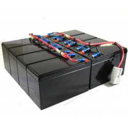 UBC12C-CA Replacement Battery Kit Compatible with APC RBC12