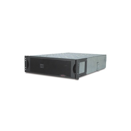APC Extended Runtime Battery Cabinet 48 Volt Rackmount 3U Refurbished Missing Faceplate (SU48R3XLBP)