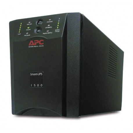 APC SmartUPS 1500VA USB Tower UPS, Refurbished (SUA1500)