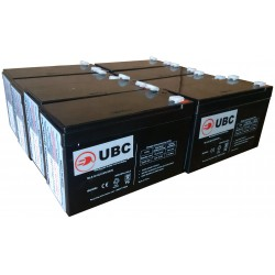UBC105-CA Replacement Battery Kit Compatible with APC RBC105