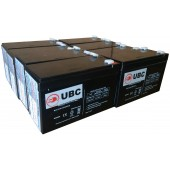 UBC105 Replacement Battery Kit Compatible with APC RBC105