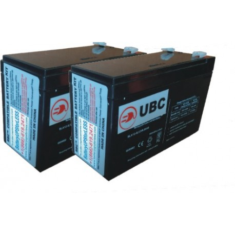 UBC123- Replacement batteries for APCRBC123