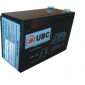 UBC17 Replacement Battery Kit Compatible with APC RBC17