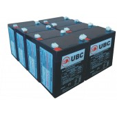 UBC43 Replacement Battery Kit Compatible with APC RBC43