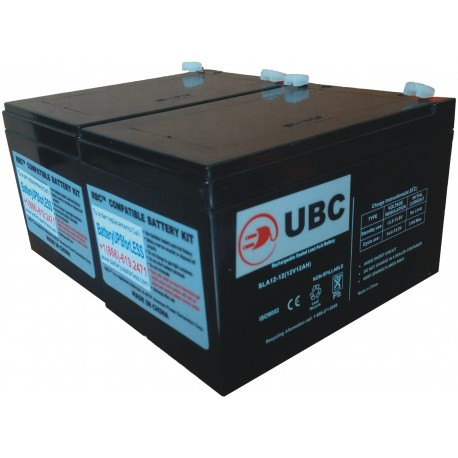 UBC6 Replacement Battery Kit Compatible with APC RBC6