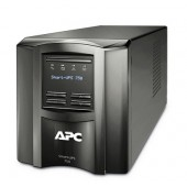 APC SmartUPS 750VA Tower UPS with LCD Display, Refurbished (SMT750)