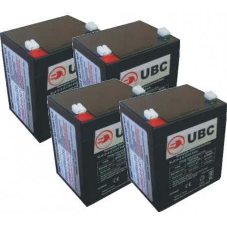 Replacement Battery kit UBC120504