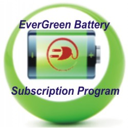 EverGreen Battery Program Subscription for 1 year