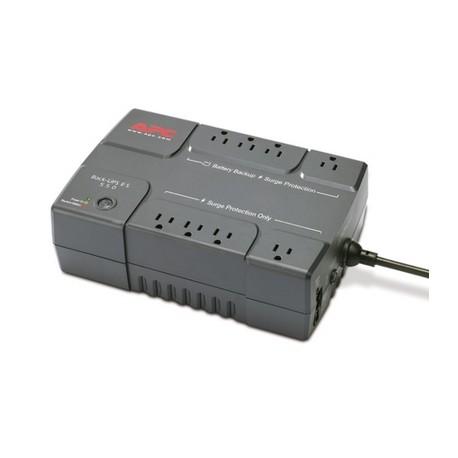APC BackUPS 550VA UPS with USB, Refurbished (BE550R)