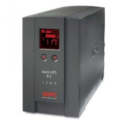 APC BackUPS RS 1500VA LCD Tower UPS Refurbished (BR1500LCD-US) US only