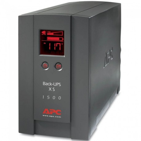 APC BACK-UPS XS 1500VA 865W LCD BX1500LCD - REFURBISHED US