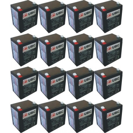 UBC140 Replacement Battery Kit Compatible with APC RBC140