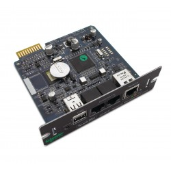 APC AP9631 Network Management Card with Environmental Monitoring. Refurbished (AP9631-US)