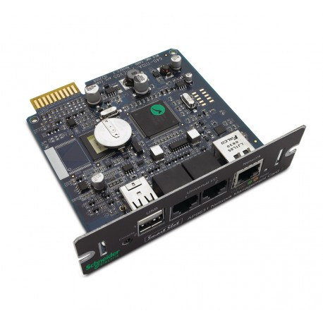APC AP9631 Network Management Card with Environmental Monitoring. Refurbished (AP9631)