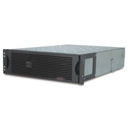 APC Extended Runtime Battery Cabinet 48 Volt Rackmount 3U Refurbished Missing Faceplate (SU48R3XLBP-US)