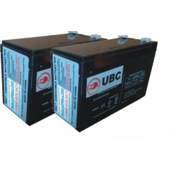 UBC124- Replacement batteries for APCRBC124 US Only