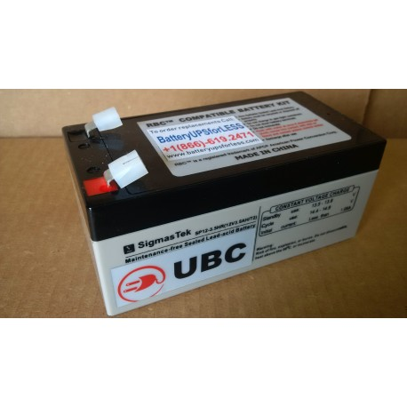 UBC35 Replacement Battery Kit Compatible with APC RBC35