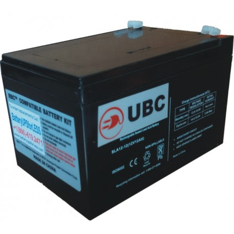 UBC4 Replacement Battery Kit Compatible with APC RBC4