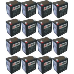 UBC44 Replacement Battery Kit Compatible with APC RBC44 US Only