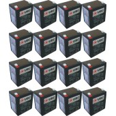UBC44 Replacement Battery Kit Compatible with APC RBC44