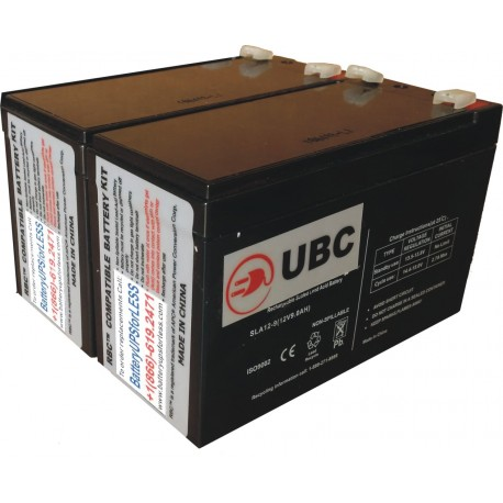 UBC48 Replacement Battery Kit Compatible with APC RBC48
