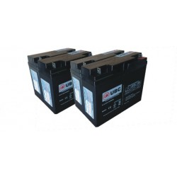 UBC55 Replacement Battery Kit Compatible with APC RBC55