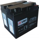 UBC7 Replacement Battery Kit Compatible with APC RBC7 US Only