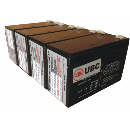 UBC8 Replacement Battery Kit Compatible with APC RBC8