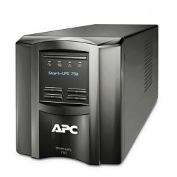 APC SmartUPS 750VA Tower UPS with LCD Display, Refurbished (SMT750-US) US Only