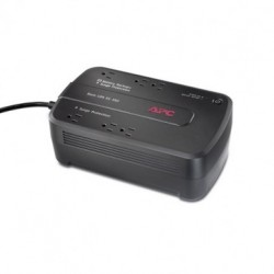 APC Back-UPS ES 350, 120V Black Standalone UPS (BE350G-US) with Network Line Protection, Refurbished - US only