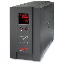 APC BackUPS RS/XS 1300VA Tower UPS Refurbished (BR1300LCD-US) US only